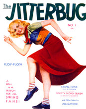 This is an image of Vintage Reproduction of Jitterbug 297374