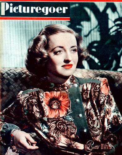This is an image of Vintage Reproduction of Bette Davis 297375