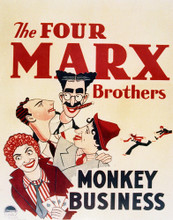 This is an image of Vintage Reproduction of Monkey Business 296461