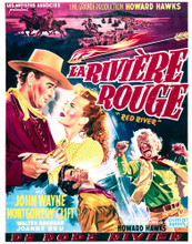This is an image of Vintage Reproduction of La Riviere Rouge 296474