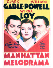 This is an image of Vintage Reproduction of Manhattan Melodrama 296527