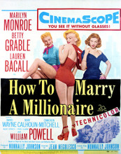 This is an image of Vintage Reproduction of How to Marry a Millionaire 297000