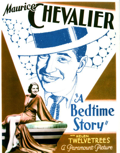 This is an image of Vintage Reproduction of A Bedtime Story 297017