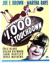 This is an image of Vintage Reproduction of $1000 a Touchdown 296961