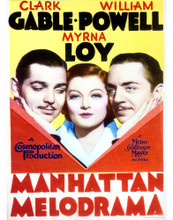 This is an image of Vintage Reproduction of Manhattan Melodrama 296966