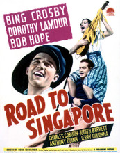 This is an image of Vintage Reproduction of Road to Singapore 296969