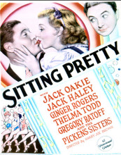This is an image of Vintage Reproduction of Sitting Pretty 296971