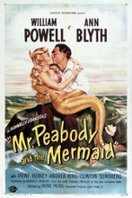 This is an image of Vintage Reproduction of Mr. Peabody and the Mermaid 294965