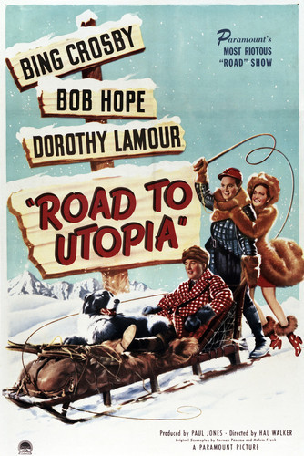 This is an image of Vintage Reproduction of Road to Utopia 294979