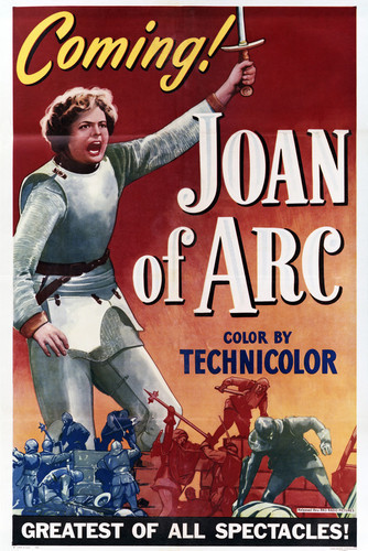 This is an image of Vintage Reproduction of Joan of Arc 294982