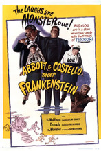 This is an image of Vintage Reproduction of Abbott and Costello Meet Frankenstein 294994