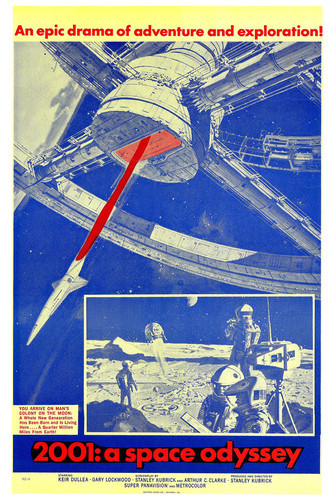 This is an image of Vintage Reproduction of 2001 a Space Odyssey 295106