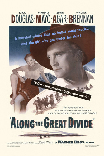 This is an image of Vintage Reproduction of Along the Great Divide 295126