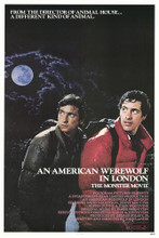 This is an image of Vintage Reproduction of American Werewolf in London 295127