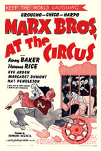 This is an image of Vintage Reproduction of At the Circus 295136