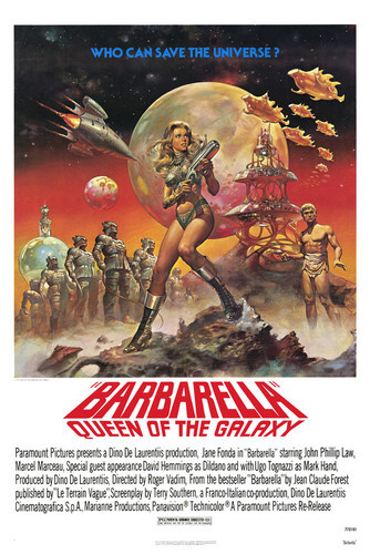 This is an image of Vintage Reproduction of Barbarella 295142