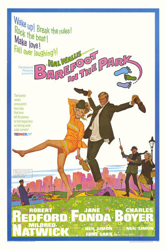 This is an image of Vintage Reproduction of Barefoot in the Park 295143