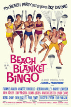 This is an image of Vintage Reproduction of Beach Blanket Bingo 295149