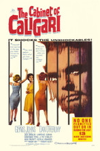 This is an image of Vintage Reproduction of The Cabinet of Caligari 295160