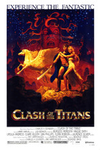 This is an image of Vintage Reproduction of Clash of the Titans 295176