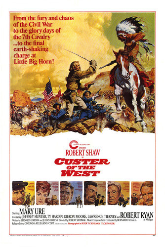 This is an image of Vintage Reproduction of Custer of the West 295182