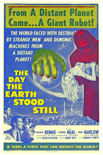 This is an image of Vintage Reproduction of The Day the Earth Stood Still 295201
