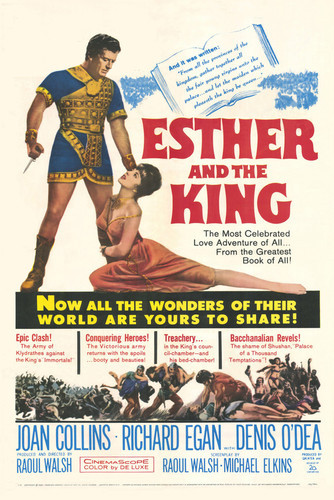 This is an image of Vintage Reproduction of Esther and the King 295340