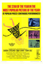 This is an image of Vintage Reproduction of Funny Girl 295367