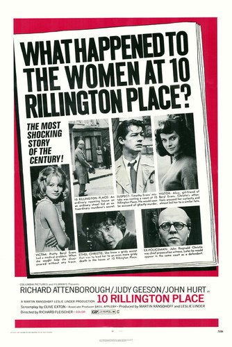 This is an image of Vintage Reproduction of 10 Rillington Place 295369