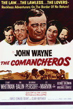 This is an image of Vintage Reproduction of The Comancheros 295375