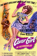 This is an image of Vintage Reproduction of Cover Girl 295376