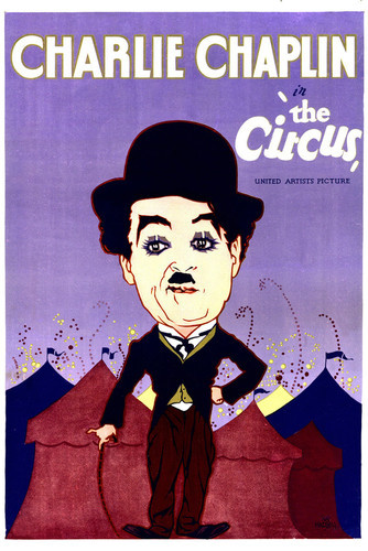 This is an image of Vintage Reproduction of The Circus 295381