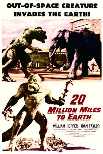 This is an image of Vintage Reproduction of 20 Million Miles to Earth 295383