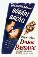 This is an image of Vintage Reproduction of Dark Passage 295390