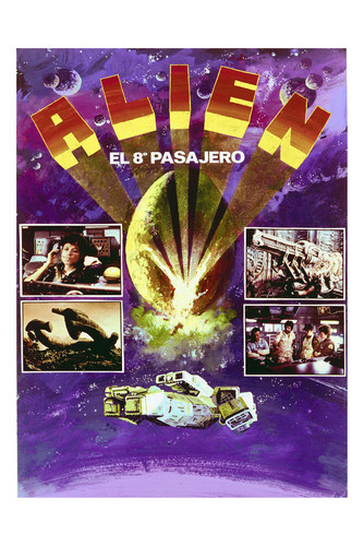 This is an image of Vintage Reproduction of Alien 296891