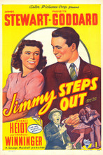 This is an image of Vintage Reproduction of Jimmy Steps out 295080