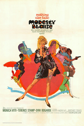 This is an image of Vintage Reproduction of Modesty Blaise 295087