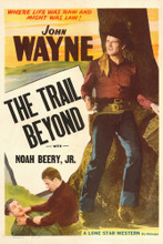 This is an image of Vintage Reproduction of The Trail Beyond 295097