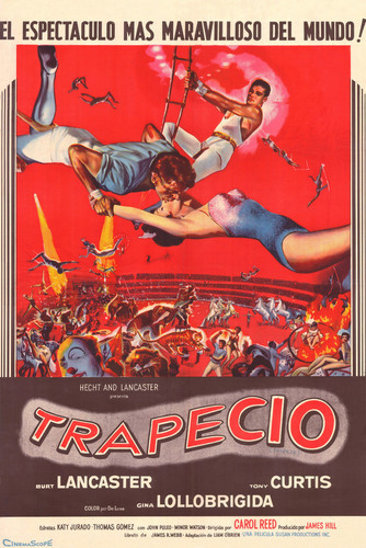 This is an image of Vintage Reproduction of Trapeze 295098