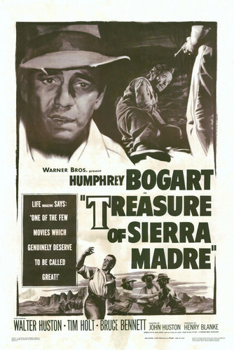 This is an image of Vintage Reproduction of Treasure of Sierra Madre 295099