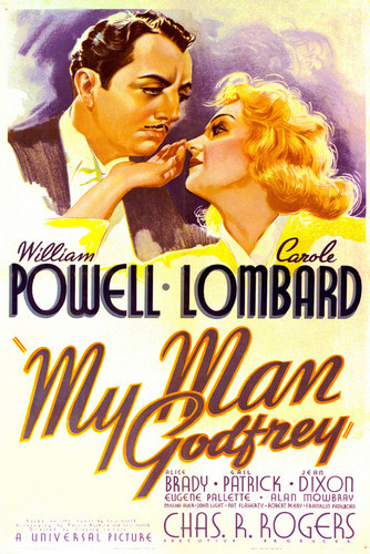 This is an image of Vintage Reproduction of My Man Godfrey 295166