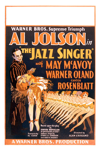 This is an image of Vintage Reproduction of The Jazz Singer 295170