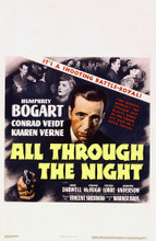 This is an image of Vintage Reproduction of All Through the Night 295198