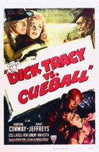 This is an image of Vintage Reproduction of Dick Tracy Vs Cueball 295202
