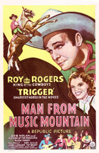 This is an image of Vintage Reproduction of Man from Music Mountain 295208