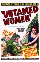 This is an image of Vintage Reproduction of Untamed Women 295211
