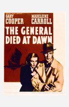 This is an image of Vintage Reproduction of The General Died at Dawn 295216