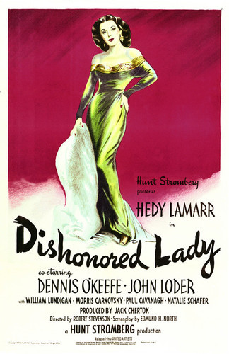 This is an image of Vintage Reproduction of Dishonored Lady 295224