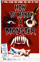 This is an image of Vintage Reproduction of How to Make a Monster 295282