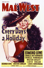 This is an image of Vintage Reproduction of Every Days a Holiday 295284